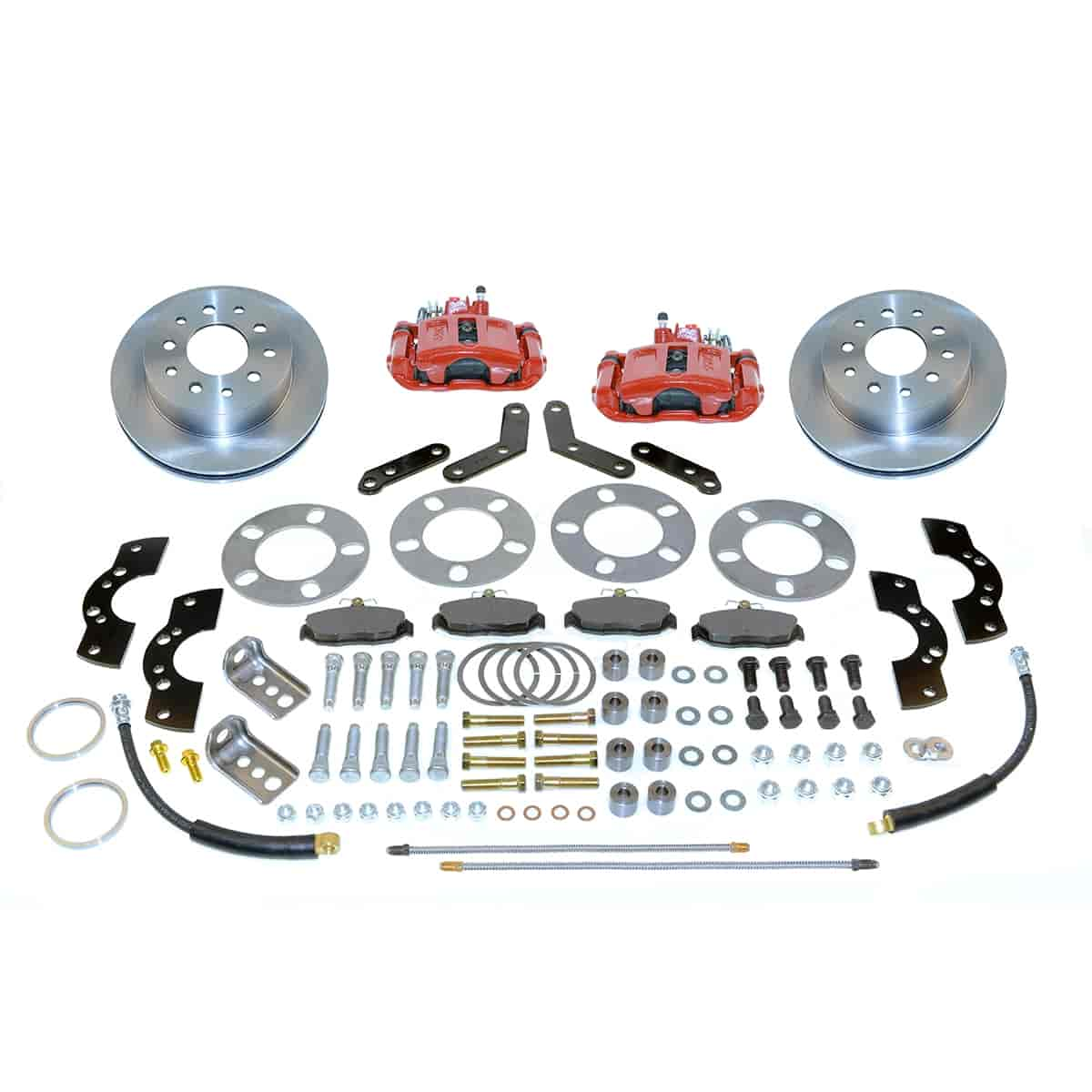 SSBC A111-2R - Stainless Steel Brakes Single Piston Rear Disc Brake Conversion Kit