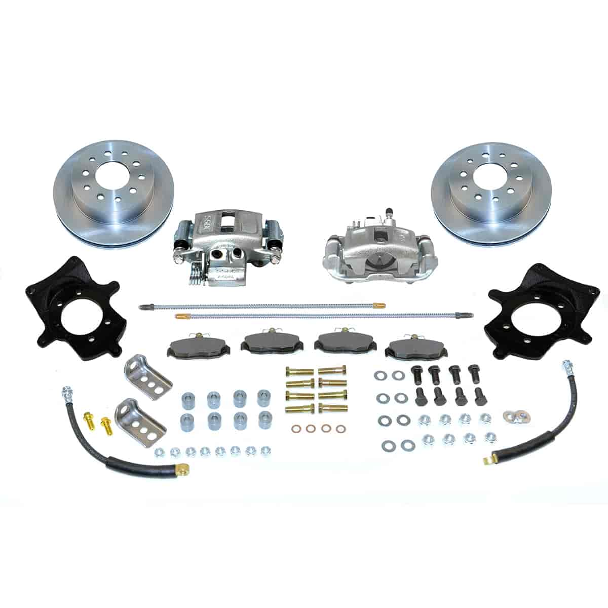 Stainless Steel Brakes A114 - Stainless Steel Brakes Single Piston Rear Drum to Disc Brake Conversion Kits