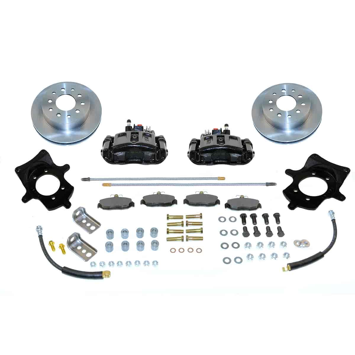 Stainless Steel Brakes A114BK - Stainless Steel Brakes Single Piston Rear Drum to Disc Brake Conversion Kits