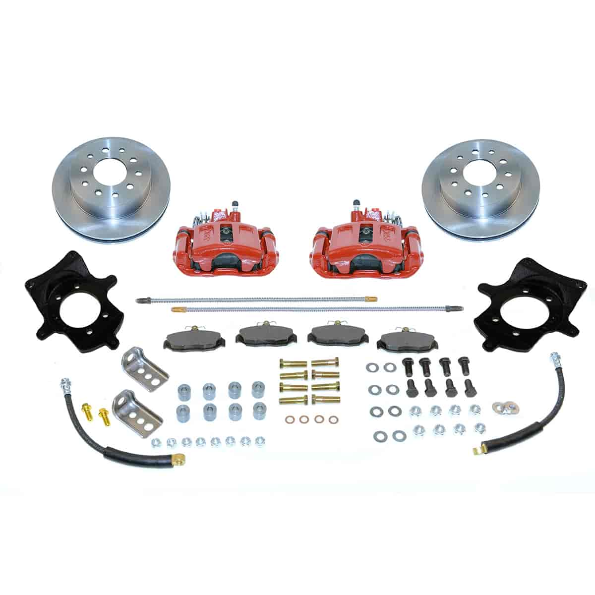 SSBC A114R - Stainless Steel Brakes Single Piston Rear Drum to Disc Brake Conversion Kits