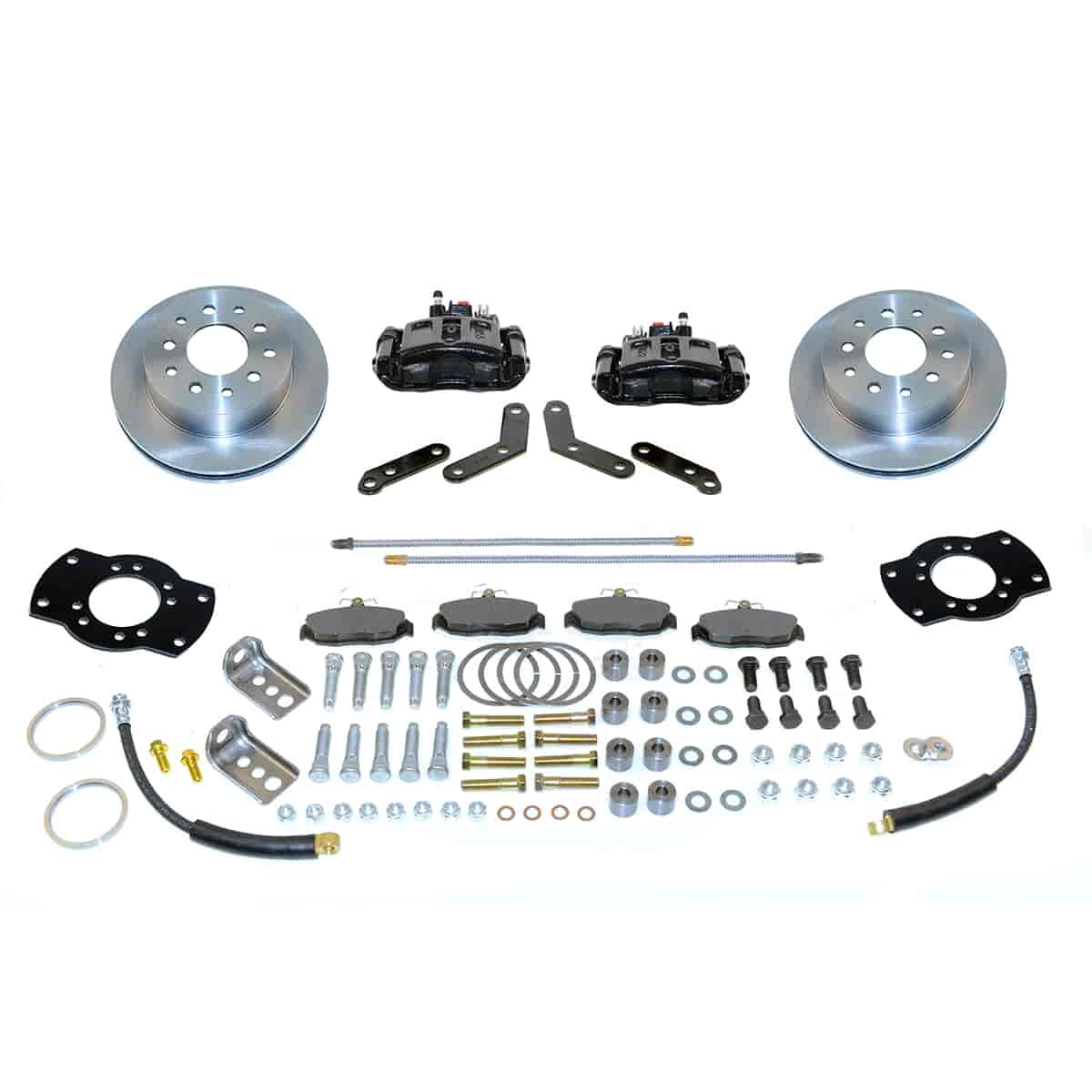 Stainless Steel Brakes A117-1BK - Stainless Steel Brakes Single Piston Rear Drum to Disc Brake Conversion Kits