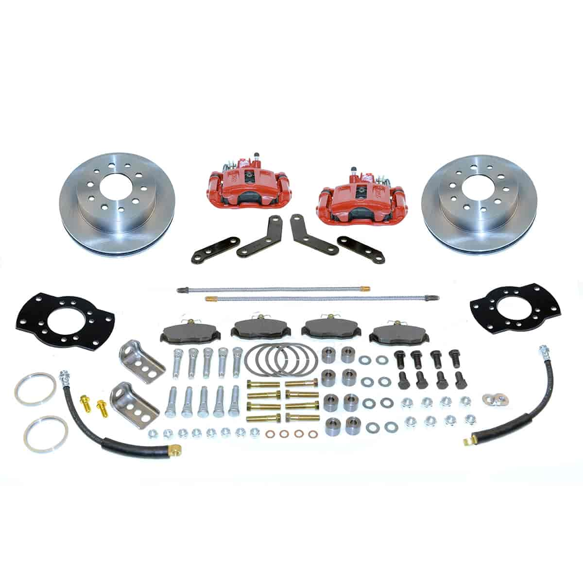 Stainless Steel Brakes A117-1R - Stainless Steel Brakes Single Piston Rear Drum to Disc Brake Conversion Kits