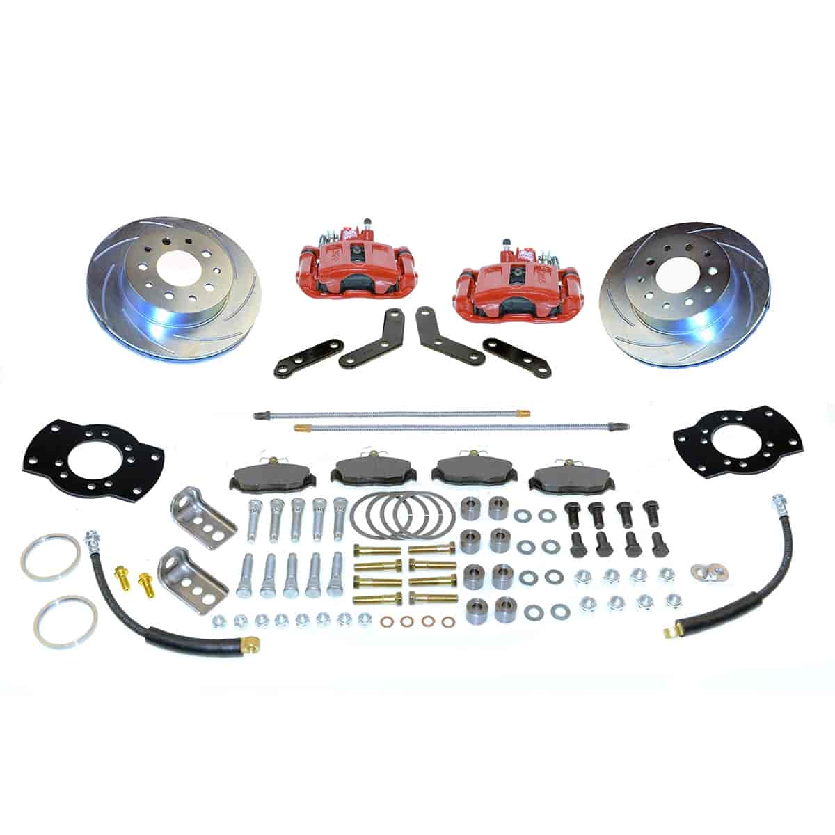 Stainless Steel Brakes A117R - Stainless Steel Brakes Single Piston Rear Drum to Disc Brake Conversion Kits