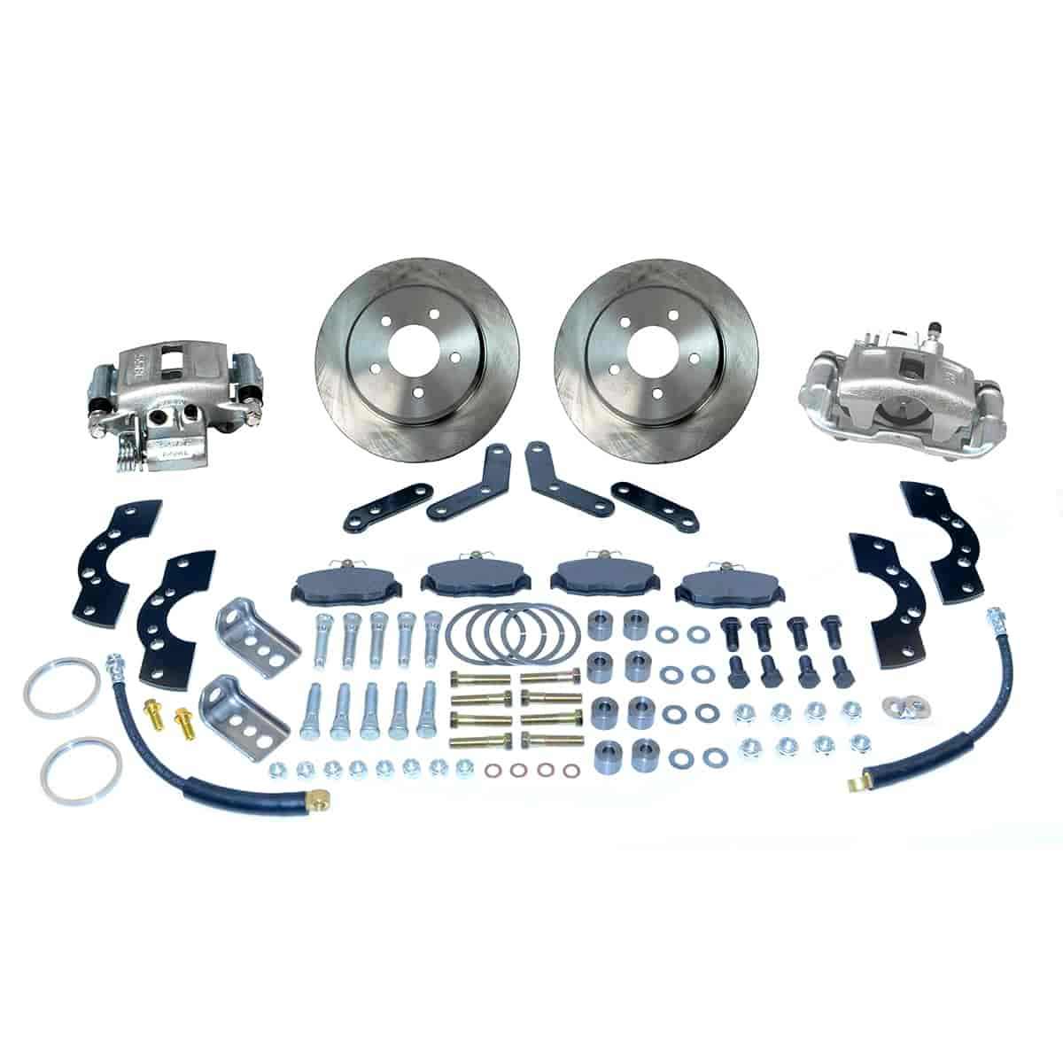 Stainless Steel Brakes A118 - Stainless Steel Brakes Single Piston Rear Drum to Disc Brake Conversion Kits