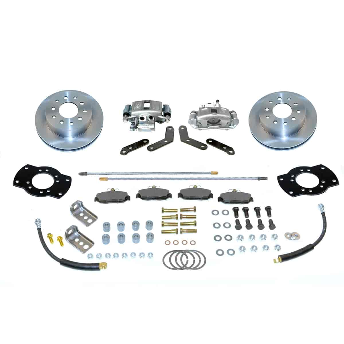 SSBC A125-1 - Stainless Steel Brakes Single Piston Rear Disc Brake Conversion Kit