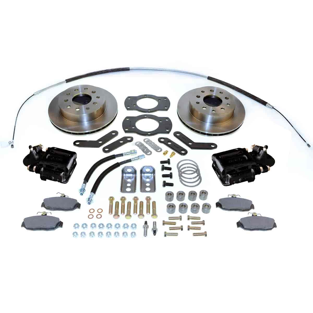 SSBC A125-1BK - Stainless Steel Brakes Single Piston Rear Disc Brake Conversion Kit