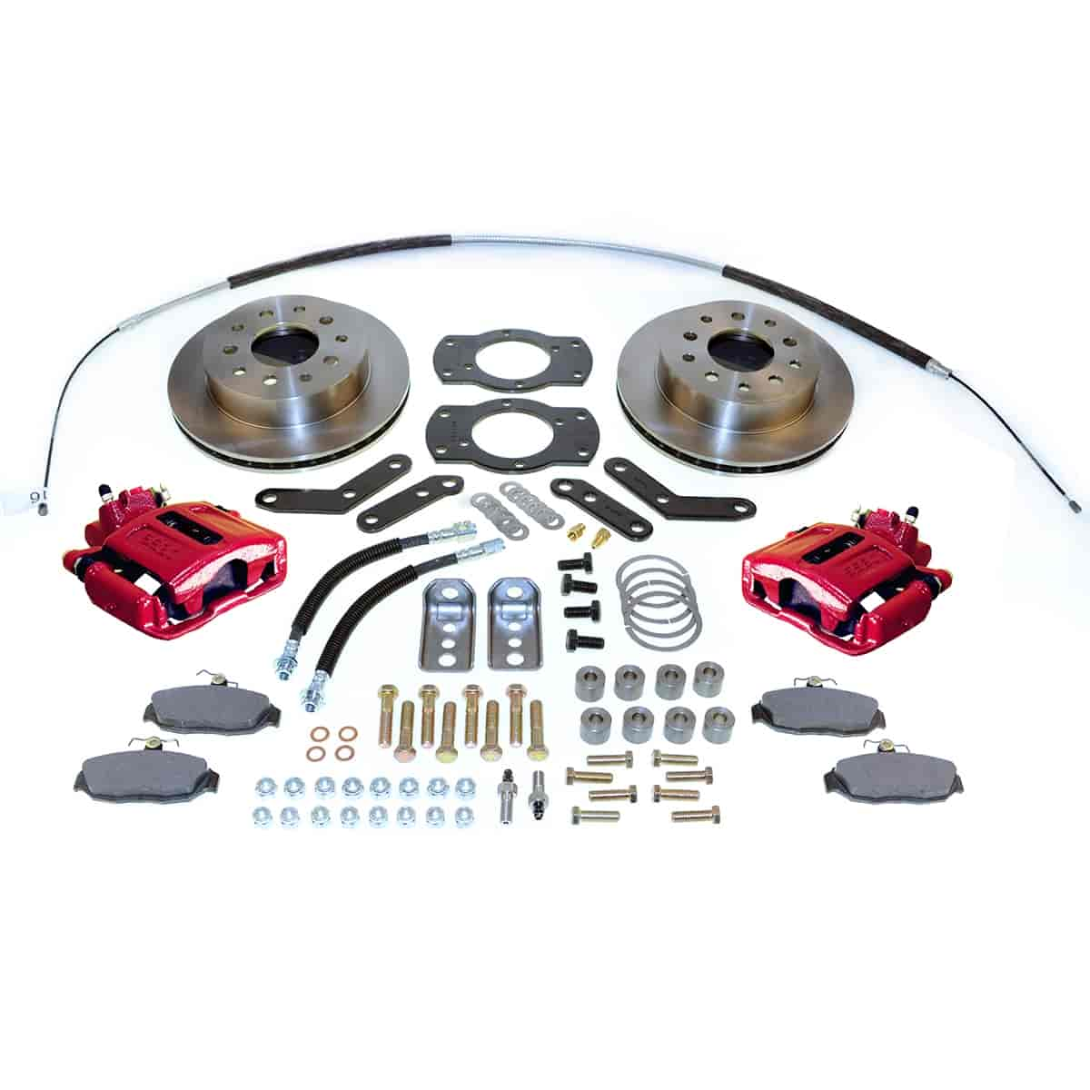 SSBC A125-1R - Stainless Steel Brakes Single Piston Rear Disc Brake Conversion Kit