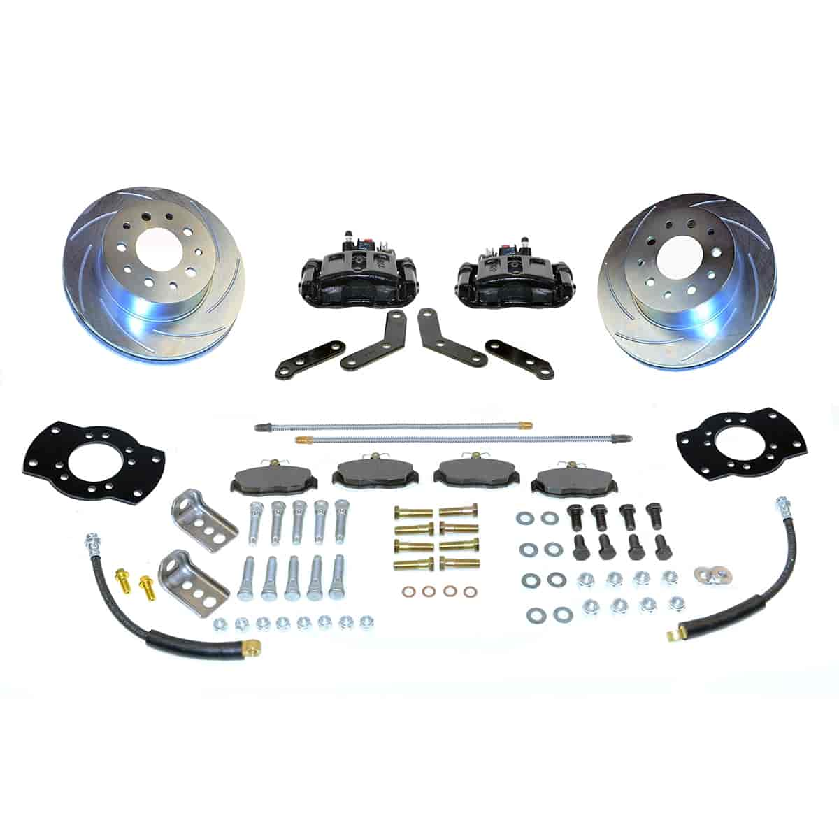 Stainless Steel Brakes A125-2BK - Stainless Steel Brakes Single Piston Rear Disc Brake Conversion Kit