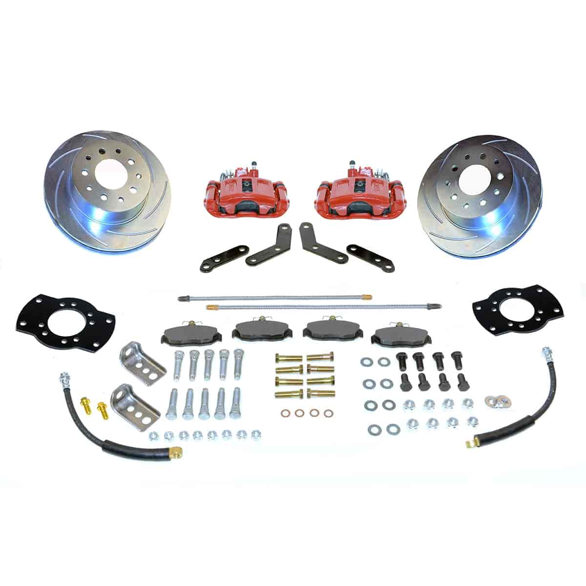 Stainless Steel Brakes A125-2R - Stainless Steel Brakes Single Piston Rear Disc Brake Conversion Kit