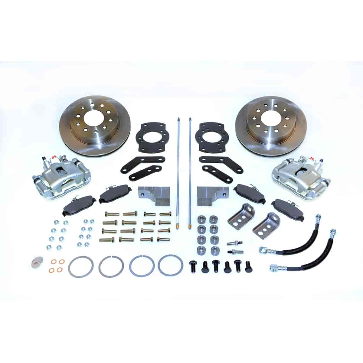 Stainless Steel Brakes A125-3 - Stainless Steel Brakes Single Piston Rear Disc Brake Conversion Kit