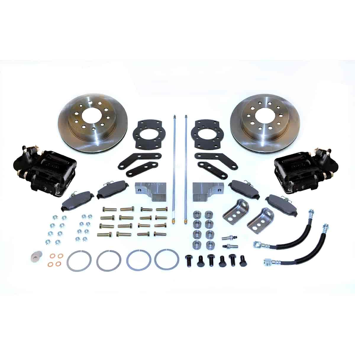 Stainless Steel Brakes A125-3BK - Stainless Steel Brakes Single Piston Rear Disc Brake Conversion Kit