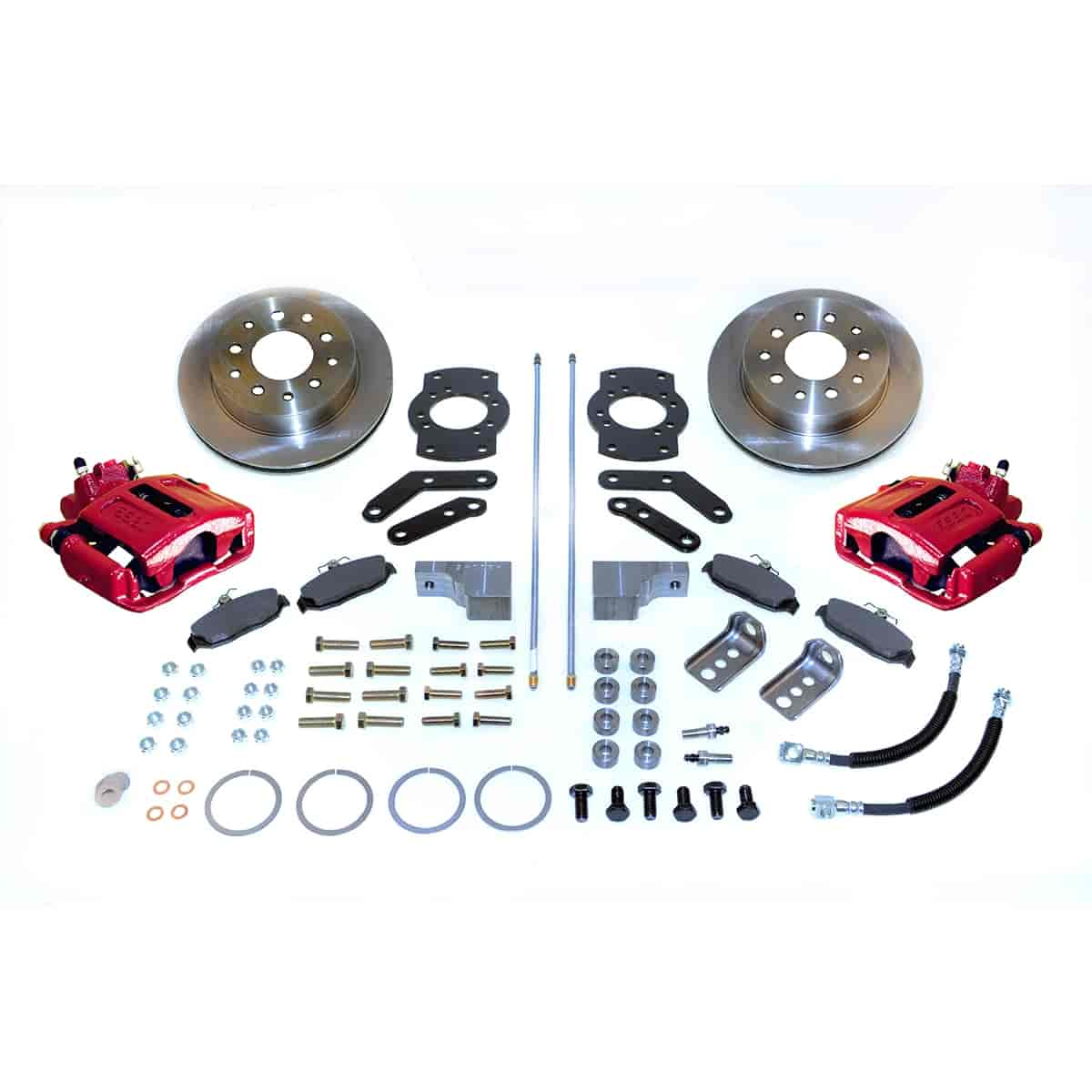 Stainless Steel Brakes A125-3R - Stainless Steel Brakes Single Piston Rear Disc Brake Conversion Kit