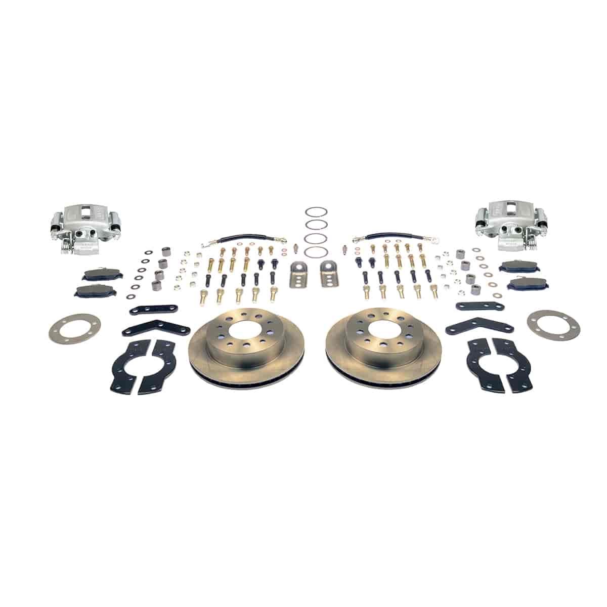 Stainless Steel Brakes A125-4 - Stainless Steel Brakes Single Piston Rear Drum to Disc Brake Conversion Kits