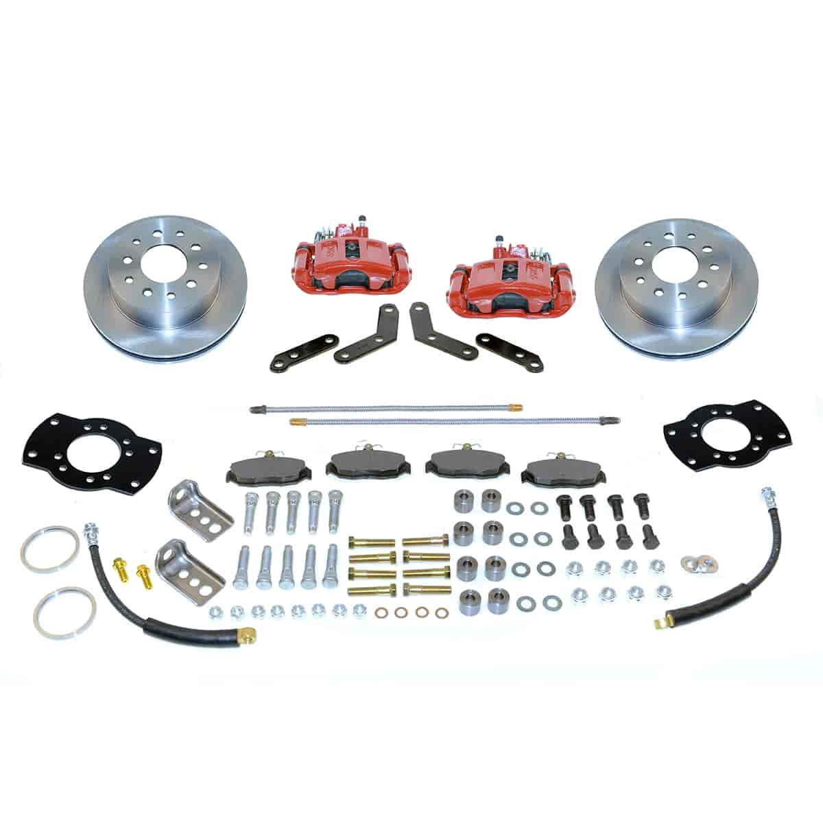 Stainless Steel Brakes A125-4R - Stainless Steel Brakes Single Piston Rear Drum to Disc Brake Conversion Kits