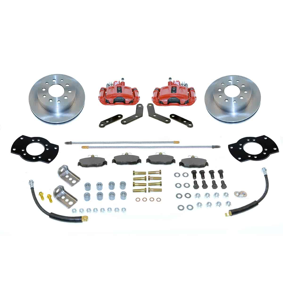 SSBC A125R - Stainless Steel Brakes Single Piston Rear Disc Brake Conversion Kit