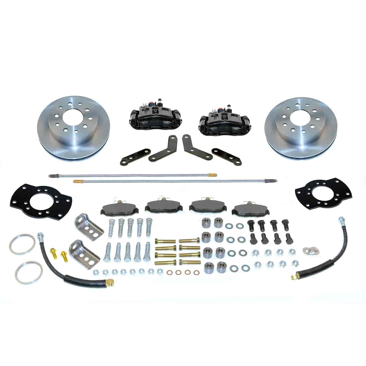 Stainless Steel Brakes A126-1BK - Stainless Steel Brakes Single Piston Rear Drum to Disc Brake Conversion Kits