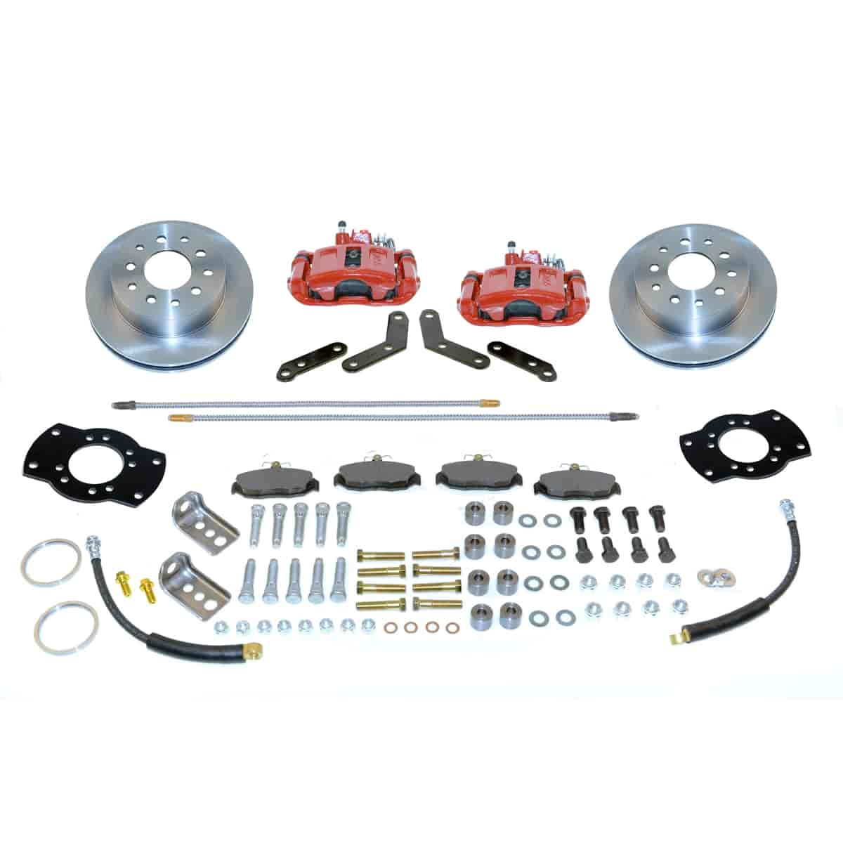 Stainless Steel Brakes A126-1R - Stainless Steel Brakes Single Piston Rear Drum to Disc Brake Conversion Kits