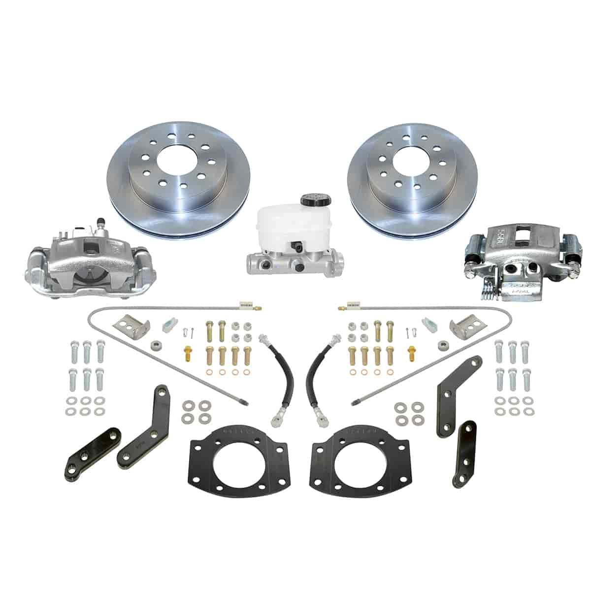 Stainless Steel Brakes A126-2 - Stainless Steel Brakes Single Piston Rear Drum to Disc Brake Conversion Kits