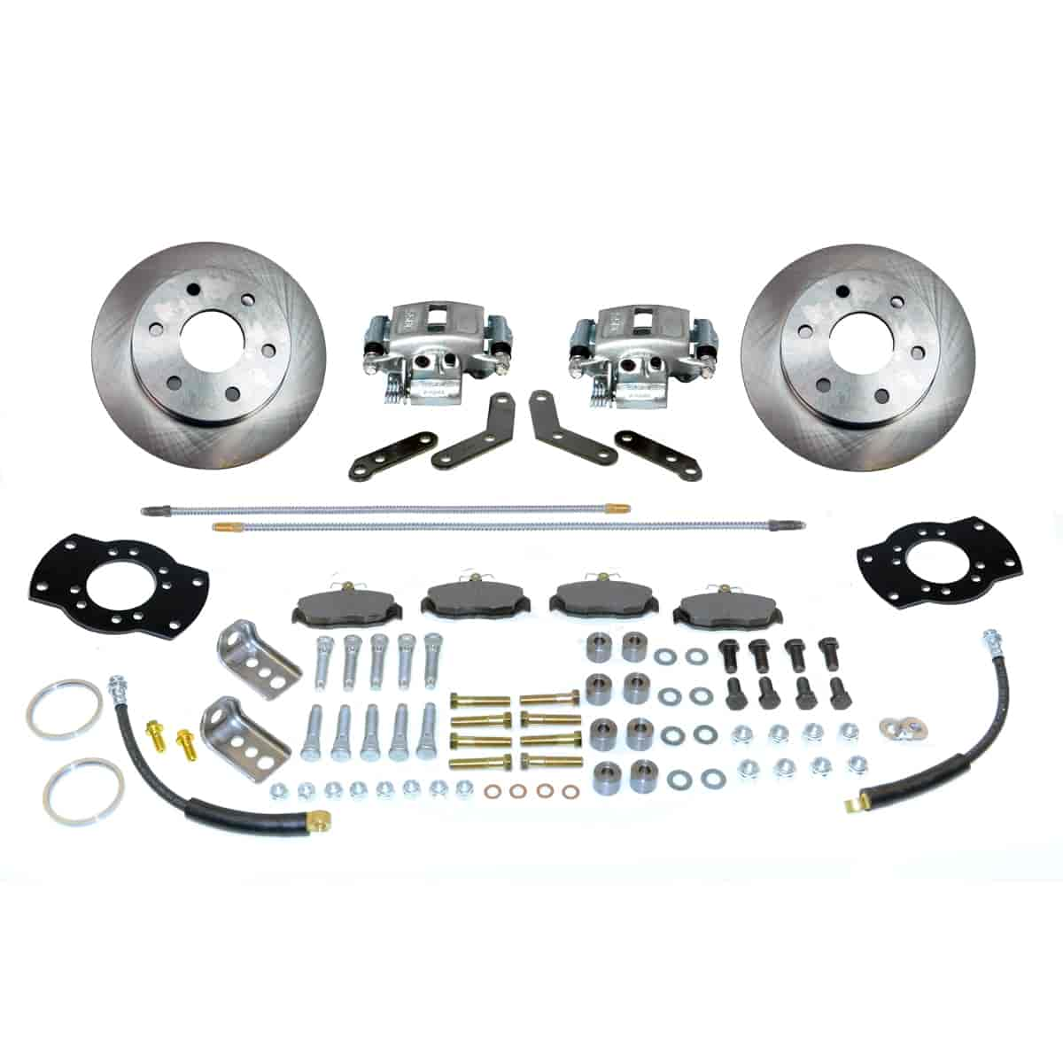 Stainless Steel Brakes A126-1 - Stainless Steel Brakes Single Piston Rear Drum to Disc Brake Conversion Kits