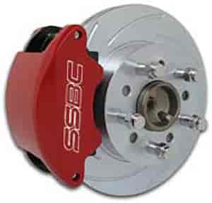 SSBC A160-2BK - Stainless Steel Brakes SuperTwin 2-Piston Front Disc Brake Kits