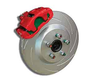 Stainless Steel Brakes A161-1BK - Stainless Steel Brakes Single Piston Rear Drum to Disc Brake Conversion Kits