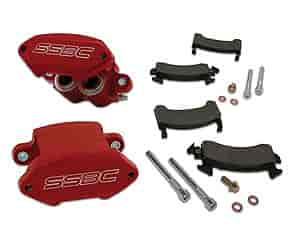 Stainless Steel Brakes A181P - Stainless Steel Brakes Sport Twin Quick Change Caliper Kits