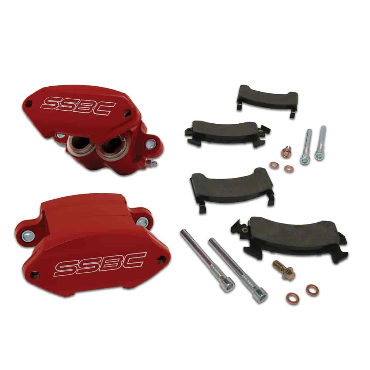 Stainless Steel Brakes A181R - Stainless Steel Brakes Sport Twin Quick Change Caliper Kits