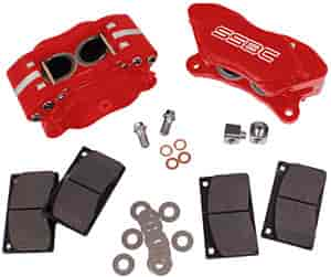 SSBC A198R - Stainless Steel Brakes Quick Change Comp Series Caliper Kits