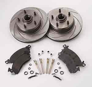 SSBC A2370011 - Stainless Steel Brakes Short Stop Rotor and Pad Upgrade Kits