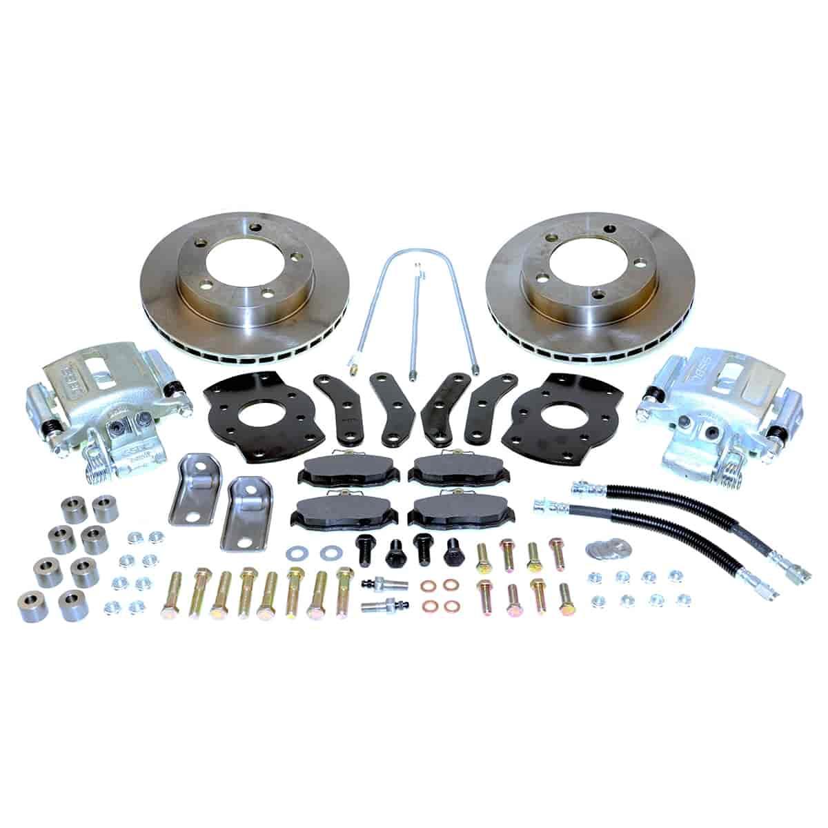 SSBC Single Piston Rear Disc Brake Conversion Kit For AMC 20 1-piece Axles