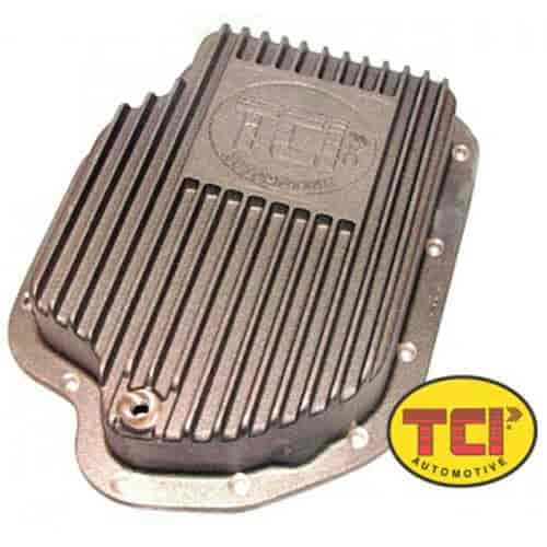 B/&M PERFORMANCE 20289 TH400 DEEP PAN Chrome Steel Deep Pan