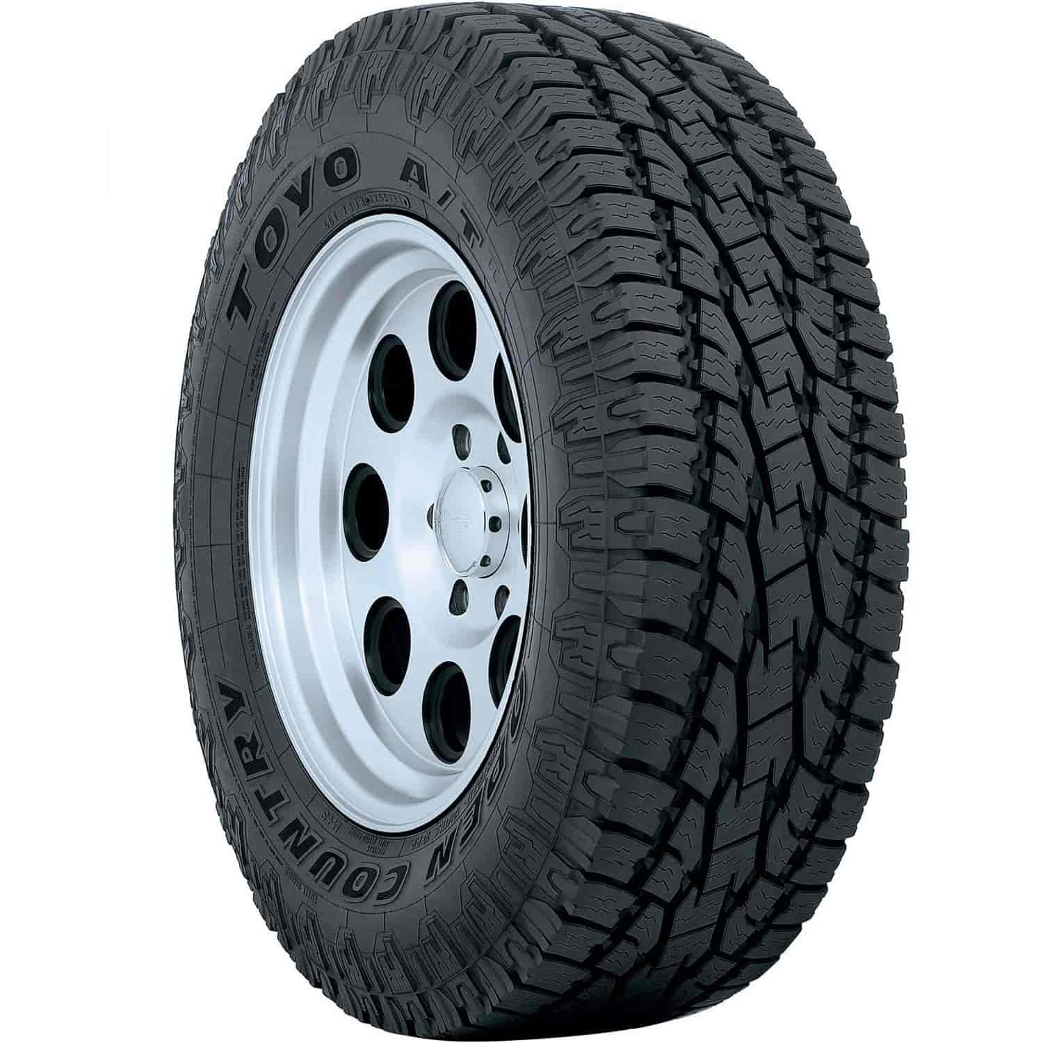 31x10 50r15 Tires >> Toyo Tires Open Country A T Ii 31x10 50r15 109s