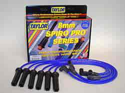 Taylor 72600 - Taylor Spiro-Pro 8mm Custom Fit Spark Plug Wires