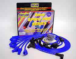 Taylor 74658 - Taylor Spiro-Pro 8mm Custom-Fit Spark Plug Wires