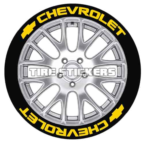 Tire Stickers CHV171818Y