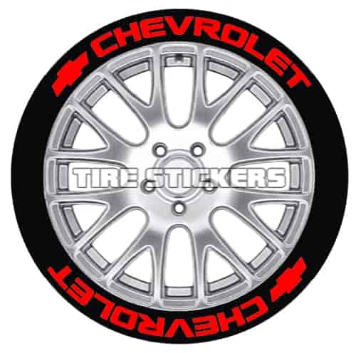 Tire Stickers CHV1921758R