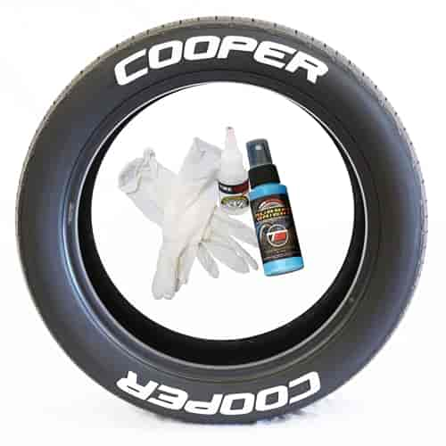 Tire Stickers COOER1258W