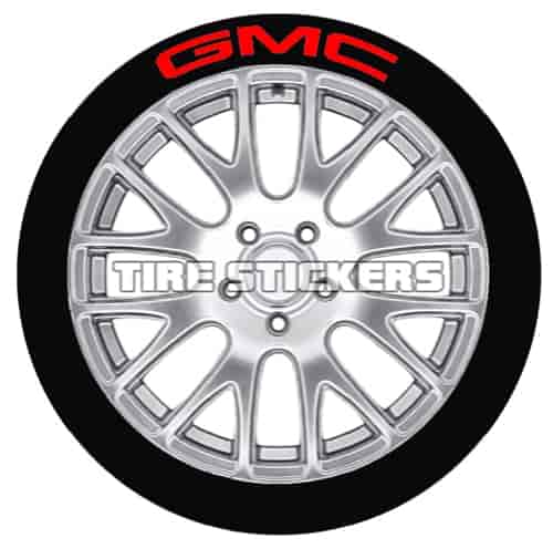 Tire Stickers GMC1416154R