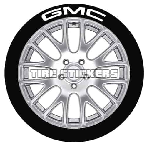 Tire Stickers GMC171814W