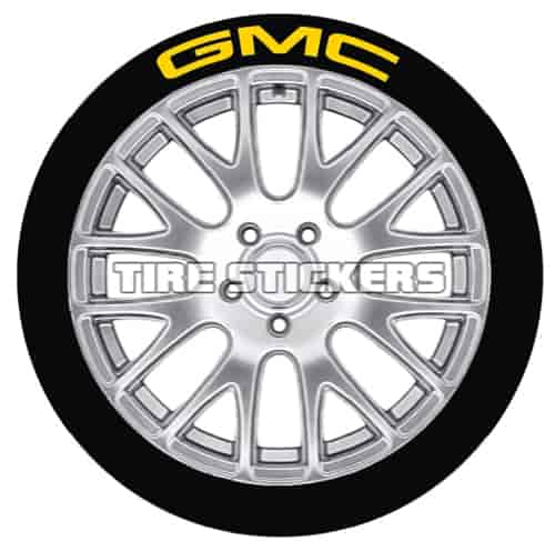 Tire Stickers GMC1921754Y