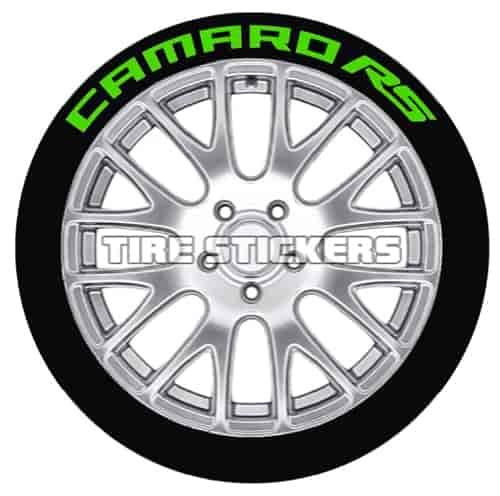 Tire Stickers RS192114G