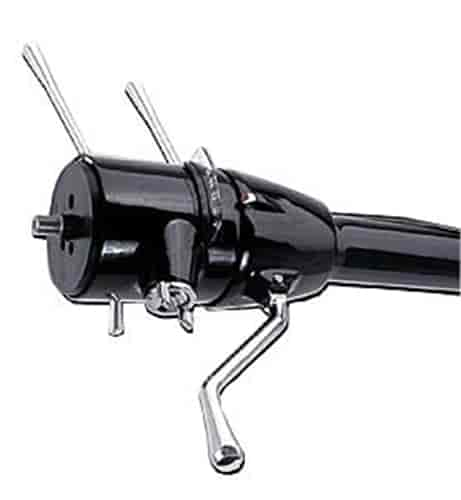 Flaming River FR30103-35BK - Flaming River Tilt Steering Columns with Built-In Key - Column Shift
