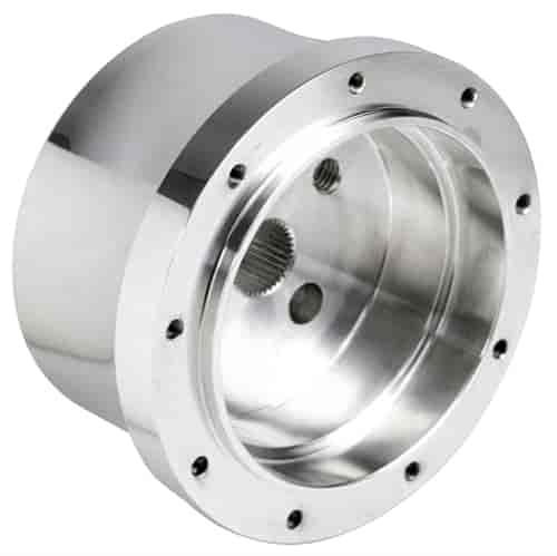 Polished Billet Aluminum Flaming River Column 5 /& 6 Hole Steering Wheel Adapter