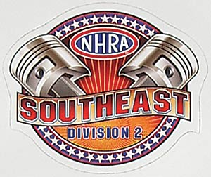 Main Gate NDC12 - NHRA Division Decals