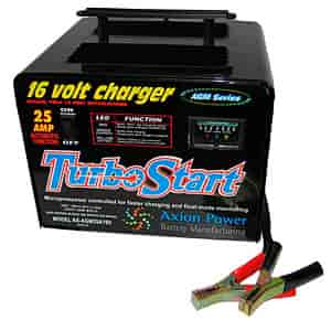 Turbo Start AGM25A19V - TurboStart 16 Volt Battery Charger/Maintainer