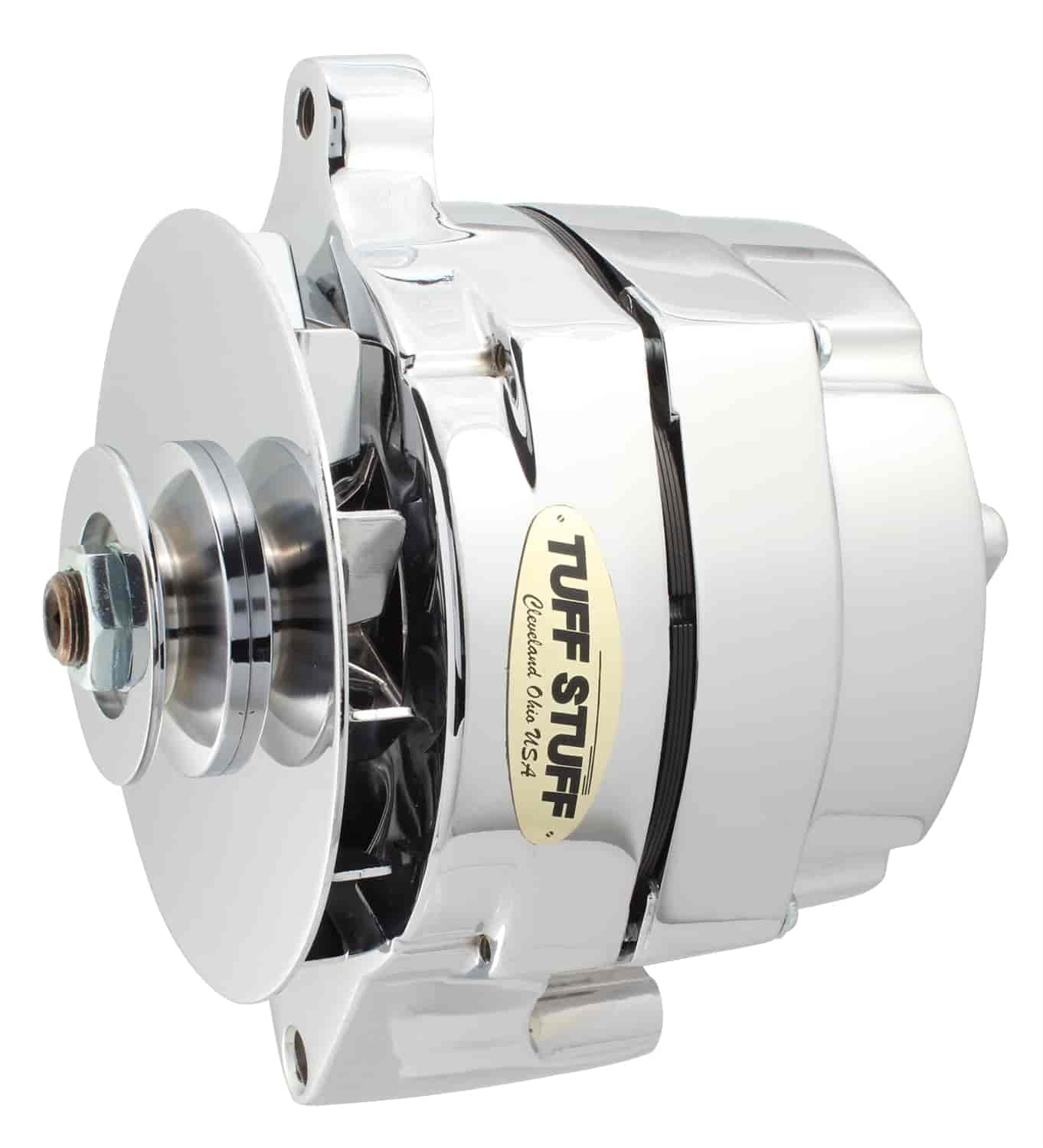 Tuff Stuff 7068RD - Tuff Stuff Chrome Alternators