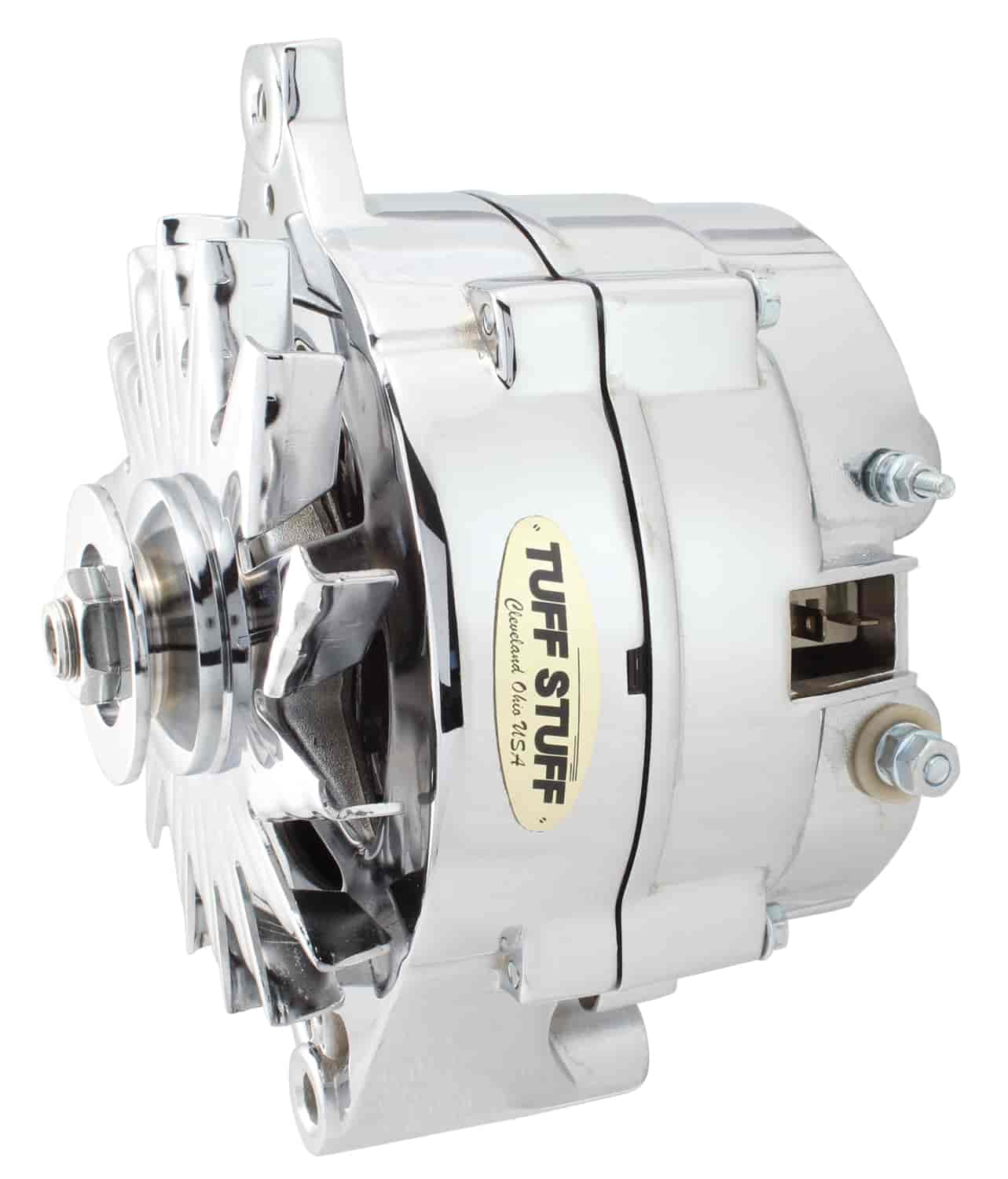 Tuff Stuff 7074RA - Tuff Stuff Chrome Alternators