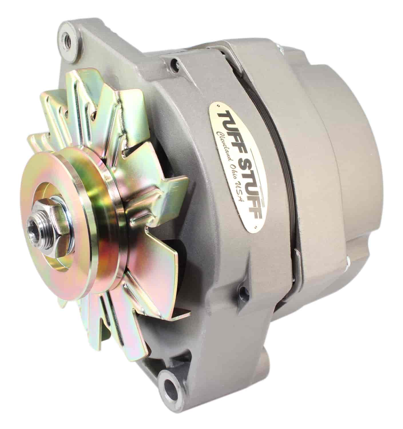 tuff stuff 7127 gm alternator 80 amp internal regulator. Black Bedroom Furniture Sets. Home Design Ideas