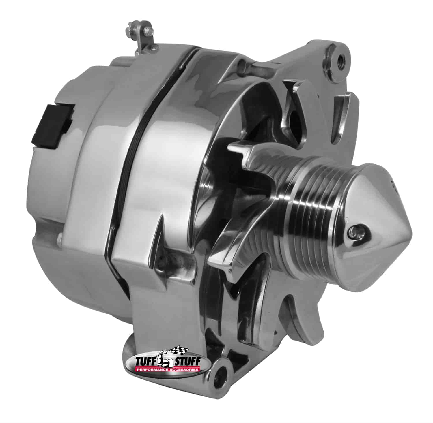 Tuff Stuff 7140ABULL6G - Tuff Stuff Chrome Alternators