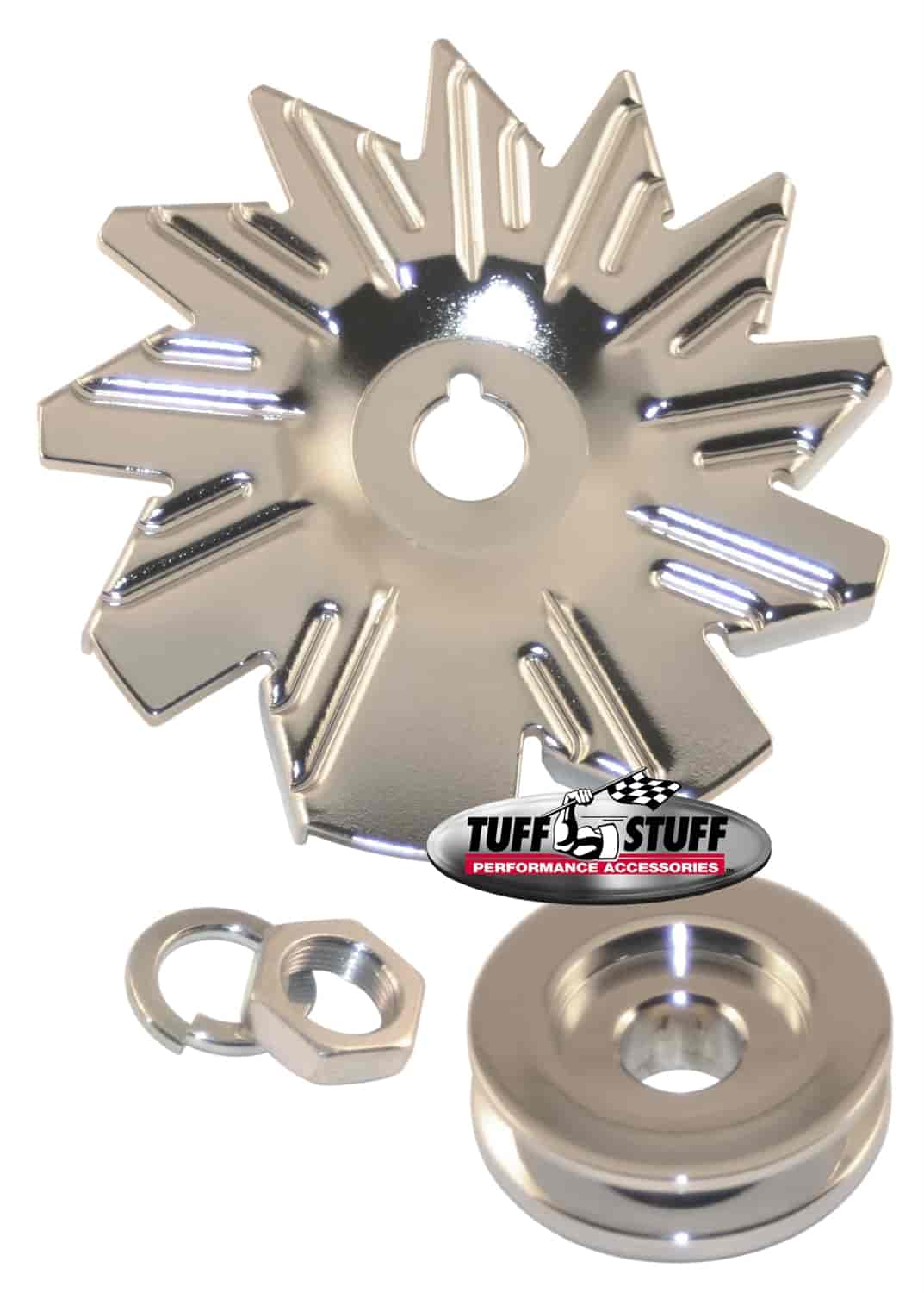 Tuff Stuff 7600A - Tuff Stuff Chrome Alternators